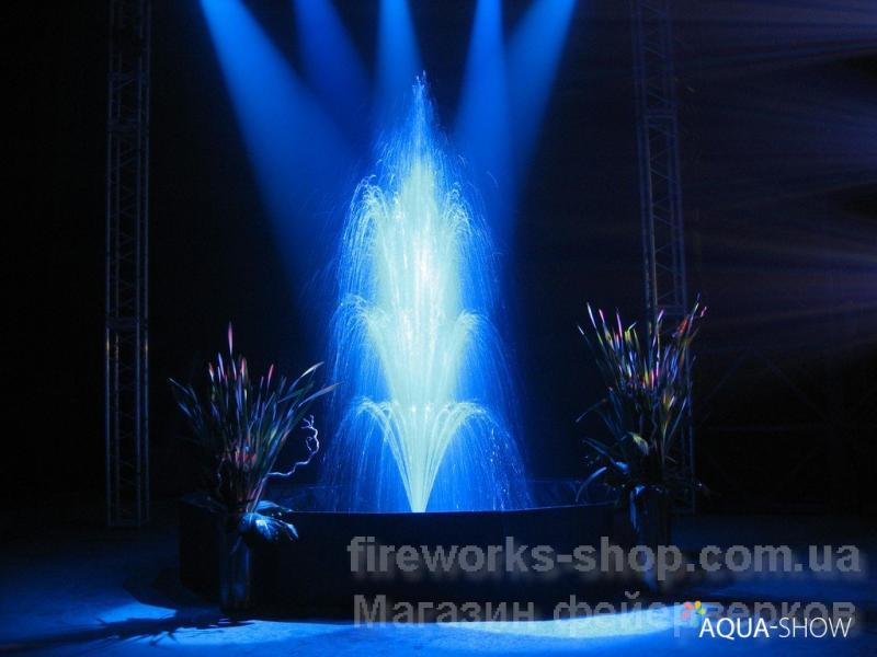 Фото Профессиональная Пиротехника и оборудование, Концертная (Сценическая) пиротехника. вспышка синяя 3м 1 с