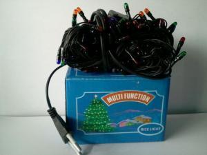 Фото Новогодняя продукция  Гирлянда электрическая, 100 лампочек