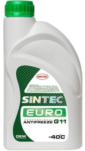 Антифриз Sintec Euro (зеленый) 10кг