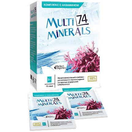 MultiMinerals 74 (Комплекс с аквамином)