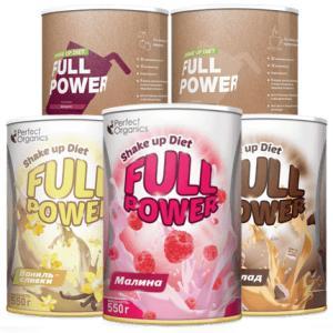 Фото Функциональное питание, Смеси для коктейлей Shake up Diet FULL POWER (Смесь сухая для приготовления коктейлей)