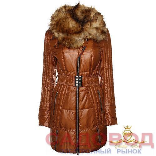 Пальто женское 426101 Пуховики женские на рынке Садовод