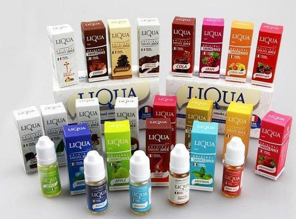 Заправки для электронных сигарет LIQUA Original Smoke Juice