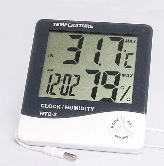 Термометер-гигрометр HTC-2 с выносным датчиком