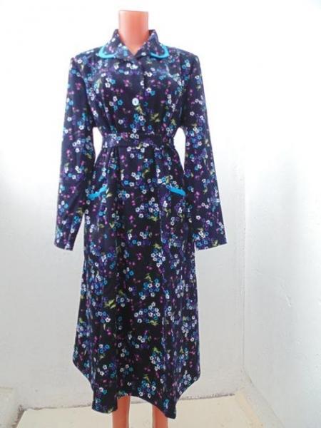 """Платье с длинным рукавом """"Интерлок"""" Арт. 00103, р-ры: 48-58"""