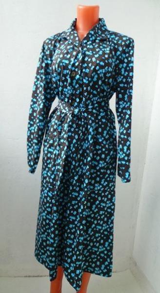 Платье с длинным рукавом 0506, р-ры: 46-60