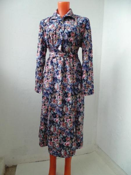 Платье с длинным рукавом 0507, р-ры: 46-60