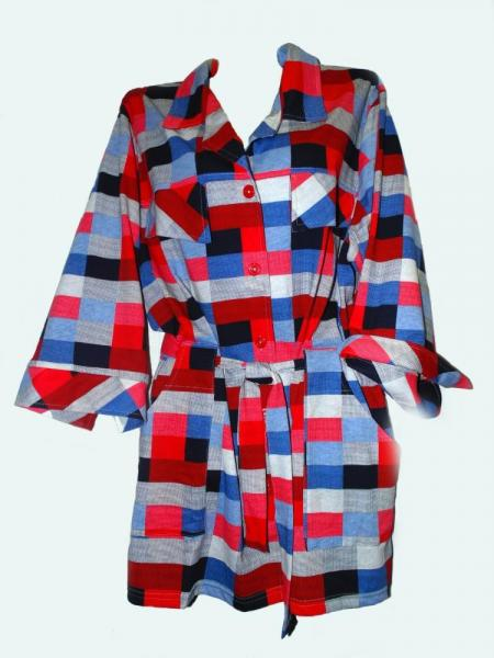 Рубашка женская Т-67/3 Размеры: 56-58; Ткань Кулирка; Состав 100% хлопок
