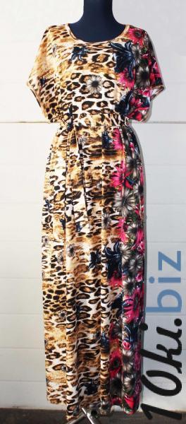 """Платье длинное""""Лео"""", арт. 0445 р-ры:50-64, 1 ряд Платья в пол, макси платья в Москве"""