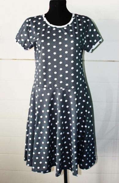 Платье 3/4 Солнца  Арт.0504 Р-ры: 46-52. В наличии 3 ряда