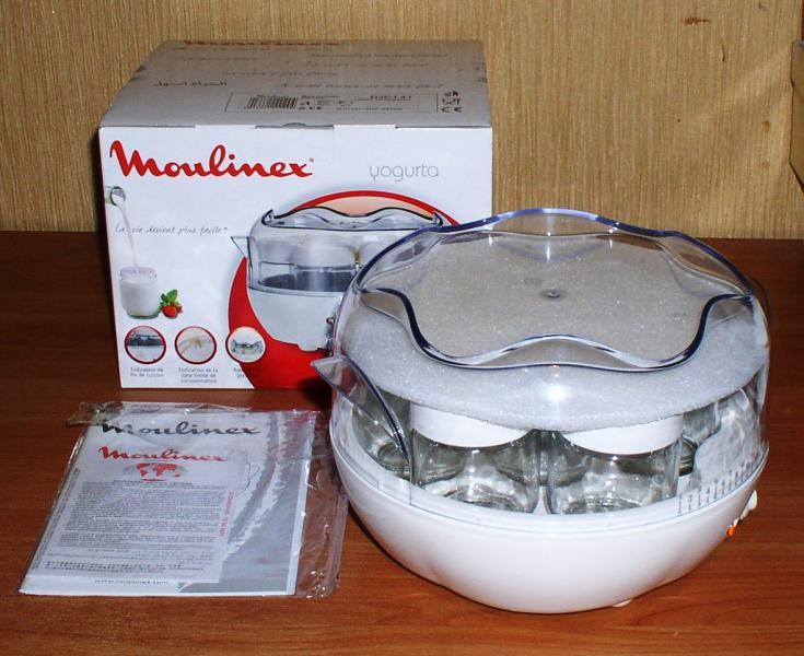 Йогуртница Moulinex DIC141 *5118