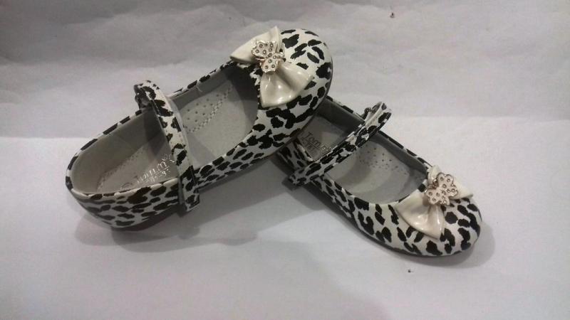 Детские Туфли Том леопард белый 26,30