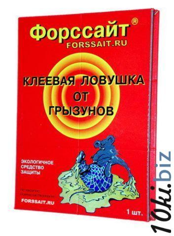 Клеевая ловушка Форс-Сайт  для грызунов - 1шт. Ловушки для грызунов в России