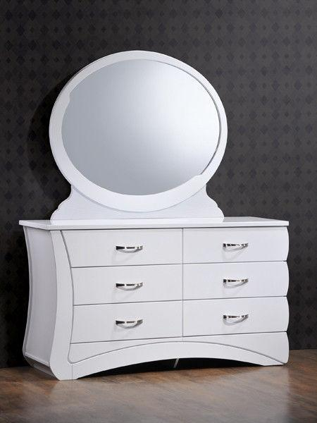 "Будуарный стол и зеркало ""Эвита"""