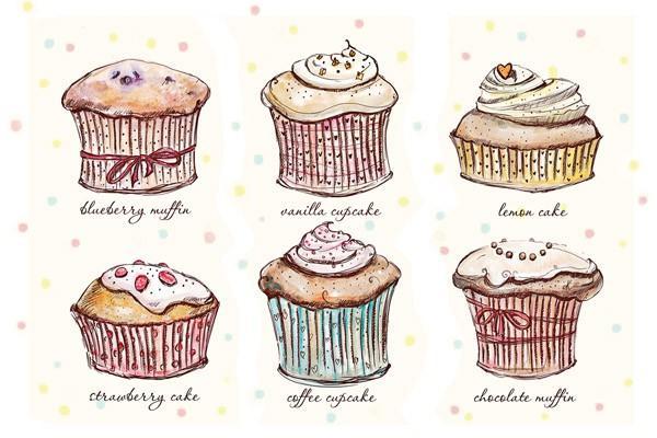 """Открытка """"Cupcakes"""""""