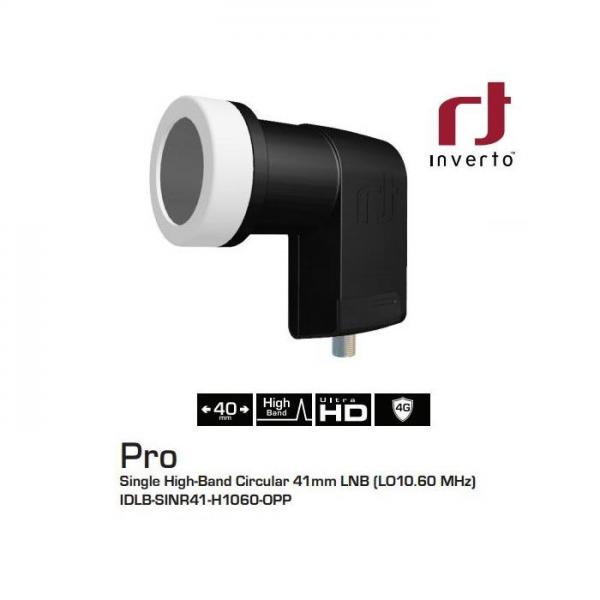 SINGLE Circular Inverto Black Pro.
