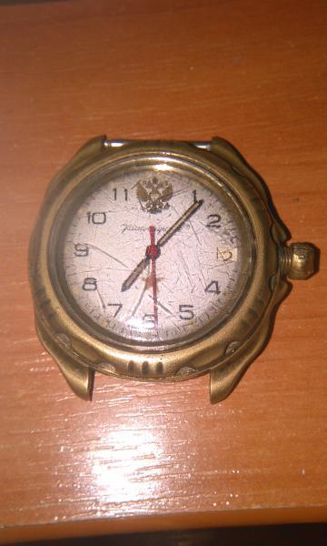 """Часы наручные """"Командирские"""""""