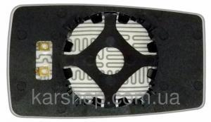 Фото Автозеркала, ЗЕРКАЛЬНЫЕ ЭЛЕМЕНТЫ НА АВТОЗЕРКАЛА, Зеркальные элементы на Chery Amulet Зеркальный элемент с обогревом на Chery Amulet по 2005 год.левое.