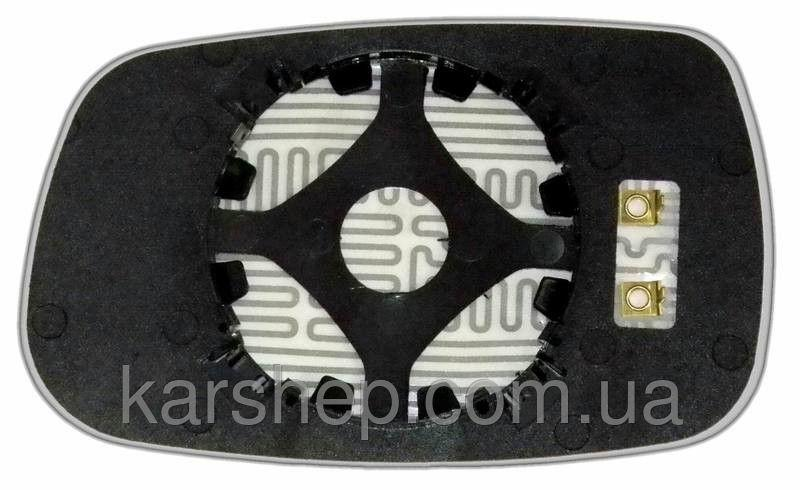 Зеркальный элемент с обогревом на Chery Amulet с 2005 года.правое.