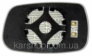 Фото Автозеркала, ЗЕРКАЛЬНЫЕ ЭЛЕМЕНТЫ НА АВТОЗЕРКАЛА, Зеркальные элементы на Chery Amulet Зеркальный элемент с обогревом на Chery Amulet с 2005 года.правое.