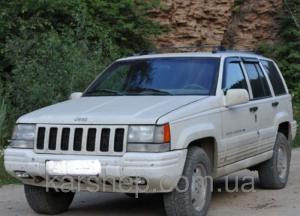 Фото Дефлекторы окон и капота (ветровики, мухобойки), Дефлекторы окон(ветровики) Cobra Tuning, Дефлекторы окон, ветровики для автомобиля Jeep Ветровики на Jeep Grand Cherokee I (SJ) 1991-1999