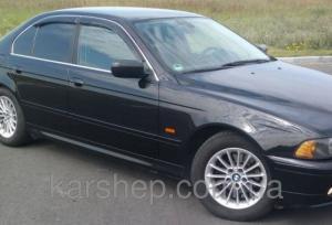 Фото Дефлекторы окон и капота (ветровики, мухобойки), Дефлекторы окон(ветровики) Cobra Tuning, Дефлекторы окон, ветровики на автомобиль BMW Ветровики на BMW 5 Sd (E39)1995-2003