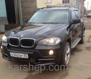 Фото Дефлекторы окон и капота (ветровики, мухобойки), Дефлекторы окон(ветровики) Cobra Tuning, Дефлекторы окон, ветровики на автомобиль BMW Ветровики на BMW X5 (E70) 2007-2013