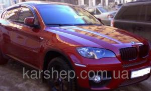 Фото Дефлекторы окон и капота (ветровики, мухобойки), Дефлекторы окон(ветровики) Cobra Tuning, Дефлекторы окон, ветровики на автомобиль BMW Ветровики на BMW X6 (E71/E72) 2008-2012; 2012