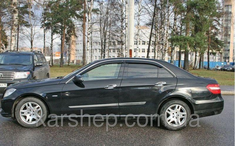 Ветровики на Mercedes Benz E-klasse Sd (W212) 2009