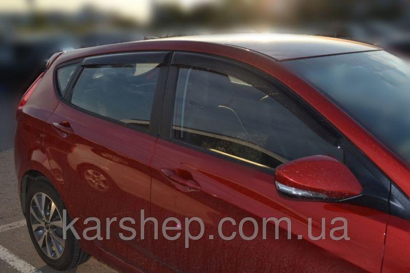 Ветровики на Hyundai Solaris Hb 2011