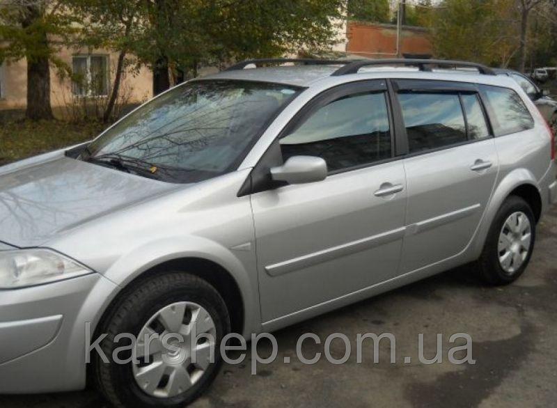Ветровики на Renault Megane II Wagon 5d 2002-2008