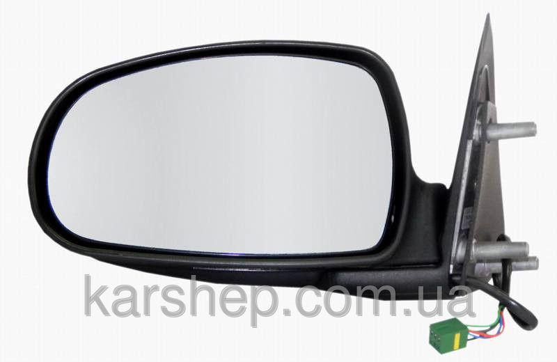 Левое электро зеркало с обогревом на Lada Калина.