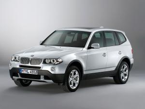 Фото Дефлекторы окон и капота (ветровики, мухобойки), ДЕФЛЕКТОР ОКОН (ВЕТРОВИКИ) VL-TUNING, Дефлектор окон BMW Ветровики для BMW X3 (E83) с 2003-2010 г.в.