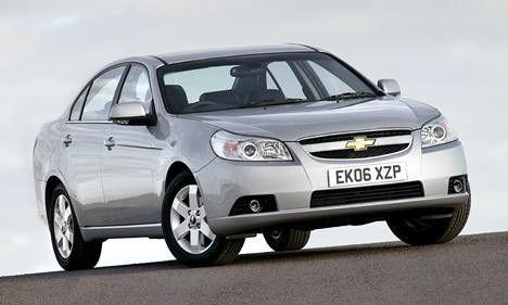 Ветровики для Chevrolet Epica с 2006 г.в. Sedan