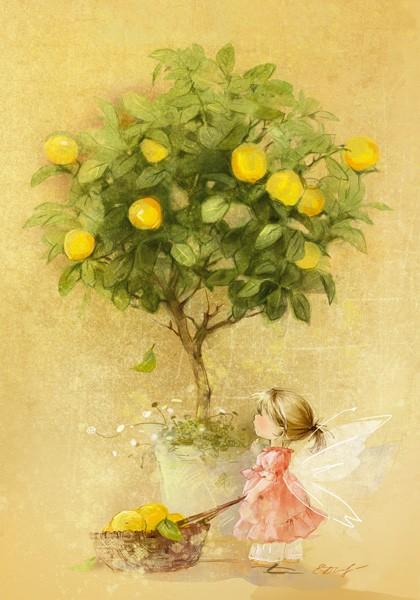 """Открытка """"Лимон"""""""