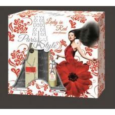 "Подарочный набор для женщин  ""LADY IN RED"". (код товара NDUJ3)"