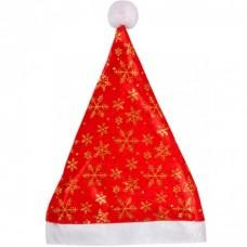 Шапка Деда Мороза красная (код товара NSN3)