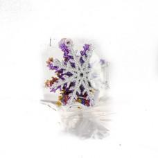"""Новогоднее украшение на елку """"Снежинка"""" 60мм (код товара NY11)"""