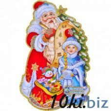 Новогодний стикер, панно на окно (код товара NNP5) Новогодний декор на Электронном рынке Украины