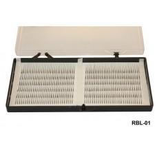Ресницы на бел. ленте (0,12-8мм) (код товара RBL-01)
