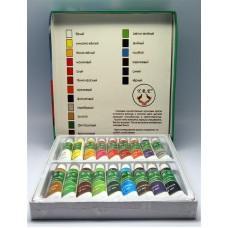 Краски акриловые 18 цв.12 мл. набор (код товара АК3-1)