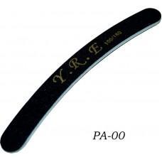Пилка - изогнутая черная 100-180 (50 шт. в упак) (код товара PA-00)