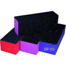 Баф 3-х сторон. цветной уп. 10шт. (код товара BF-02)