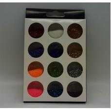 Набор декора 12шт цветной (код товара NDP-12CP)