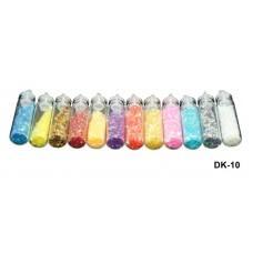 Паетки-кружочки в бутылочке 4 гр (код товара DK-10)
