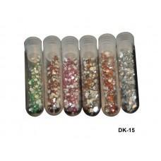 Декор камни в колбе 5 гр. (код товара DK-15)
