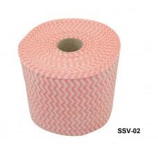 Салфетки в рулоне цветные (код товара SSV-02)