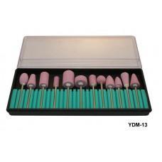 Набор насадок для фрезера 12шт. (камень) (код товара YDM-13)