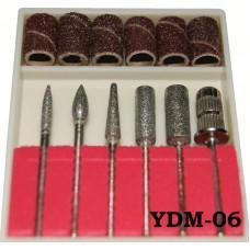 Набор насадок для фрезера 6шт. (код товара YDM-06)