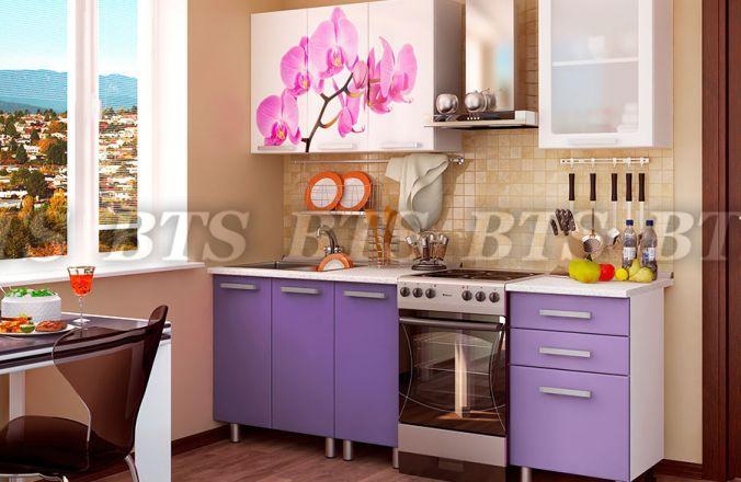 Фото Кухни готовые Кухня Орхидея 1,6 м (БТС)